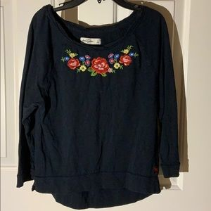 Floral Abercrombie Top